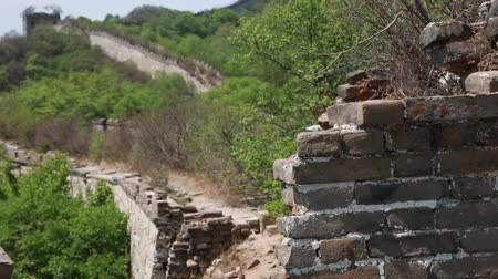 great wall of china : cool great wall of china on a mountain jiankou section