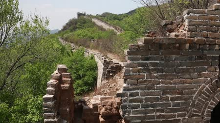 great wall of china : cool great wall of china on mountain jiankou section