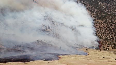 hamu : Fire Burning on Mountain