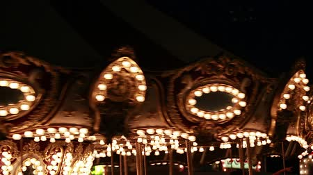 izzók : merry go round at night time with lights