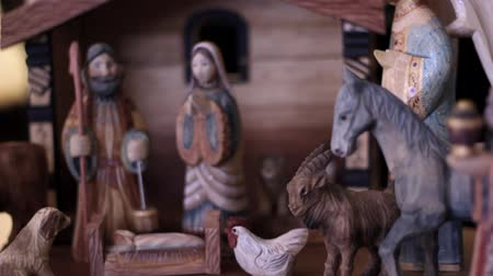 İncil : Panning Nativity Scene