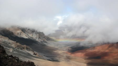 spící : Rainbow in Volcano Crater