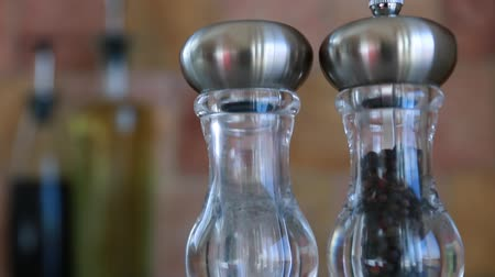 ocet : salt and pepper shakers in the kitchen