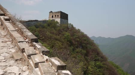 onarılmış : section of great wall of china near beijing