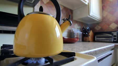 konvice : Tea Kettle on Stovetop