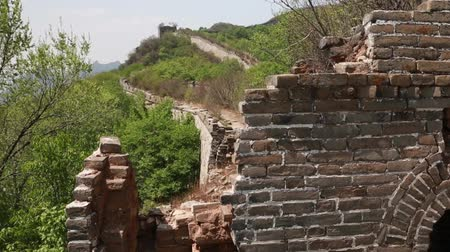 mutianyu section : the cool great wall of china on mountain jiankou section