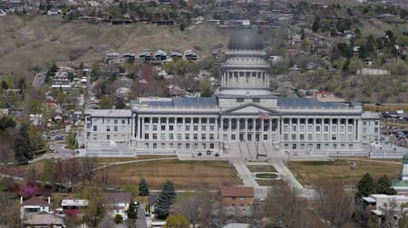 kongres : The Utah State Capitol Building in Salt Lake