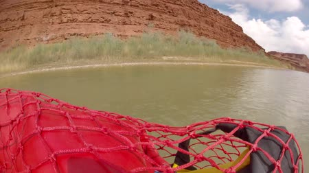 preserver : time lapse of families running the san juan river on rafts
