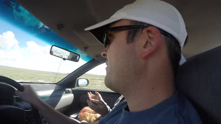 ailelerin : A timelapse of a family driving in a car on vacation