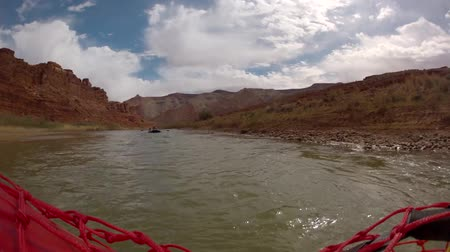 preserver : timelapse of rowing down a river on rafts