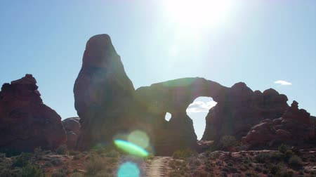 sál : Turret arch in arches national park
