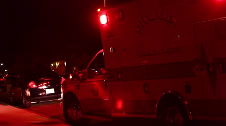 lutador : Emergency Vehicles at Night