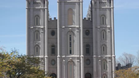 sagrado : SALT LAKE CITY UTAH, USA-April 2, 2015: The Mormon Temple at Temple Square for the Church of Jesus Christ of Latterday Saints