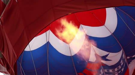 propane : Flame inside hot air balloon