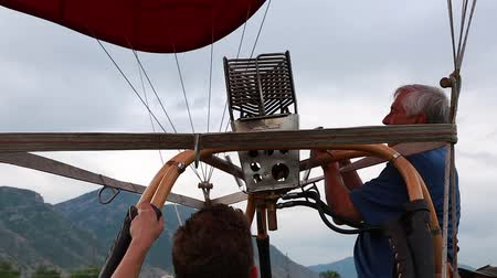 propane : Families gather at the hot air balloon freedom festival in Provo Utah