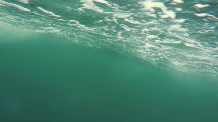 cape breton : An underwater shot of bubbles passing by while in a boat
