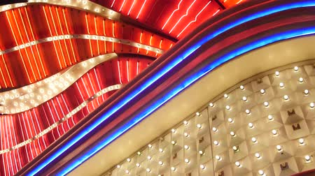 премия : Big bright lights outside las vegas casino static shot