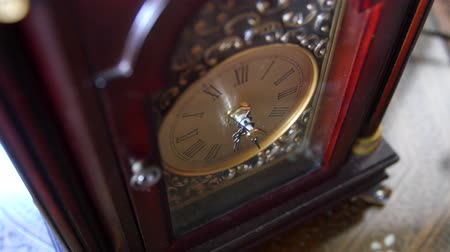 cloche : Cool antique clock hands turn with time