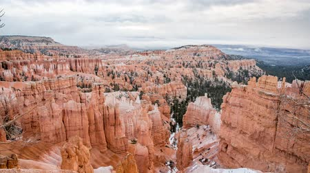 martelo : Timelapse at snowy bryce canyon national park
