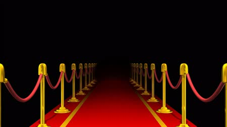 halı : Red Carpet Walkway Loop (HD)