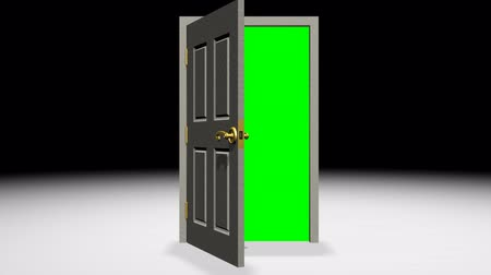 opening : Door Opening Green Screen Transition. 3D created Wooden Door opens to reveal a green screen so you can use it as an opening transition. Original live recorded Audio Included as a bonus.