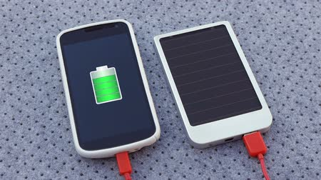 pil : Solar Cell Phone Charger With Original Battery Animation