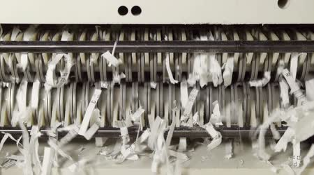 papier : Paper Shredder Mécanisme From Inside