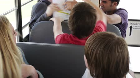 bullies : Kid being harassed & picked on by bullies on a school bus