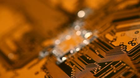микрочип : Circuit Board Close-up