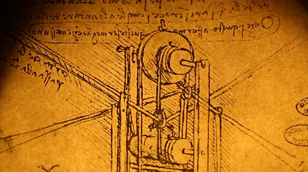 davinci :  Leonardo da Vinci engineering drawing