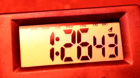 sayma : Close up of a digital timer