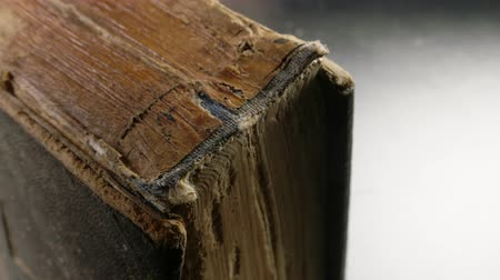 edebi : Close up of an old book