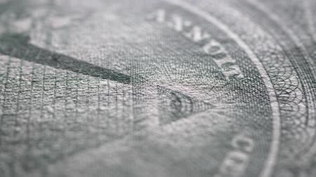 Close up of U.S. Dollar Wideo