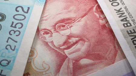 Macro close up of Indian Currency
