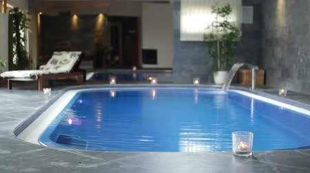 plavání : Interior of wellness and Spa swimming pool.
