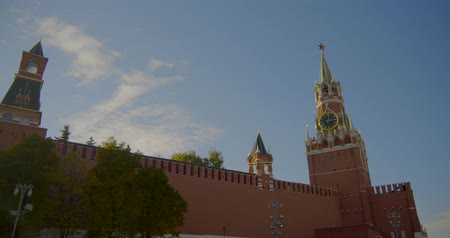 views over the walls of the Kremlin