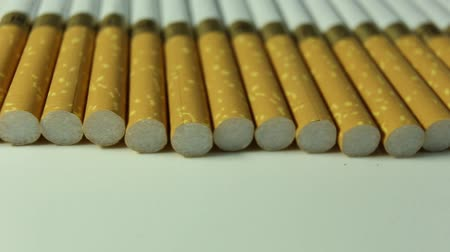 packet : cigarettes closeup rotate clockwise Stock Footage