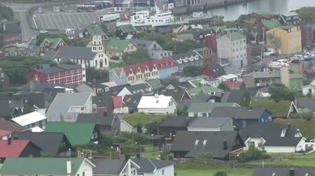 torshavn : View over Thorshaven city on the Faroe Islands