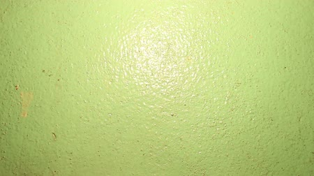 Light on green wall texture