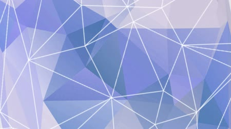 вектор : Abstract blue triangle vector background.