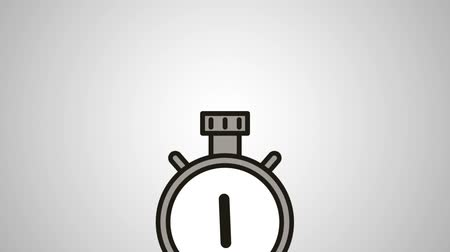 크로노 미터 : chronometer timer measure animation  illustration design