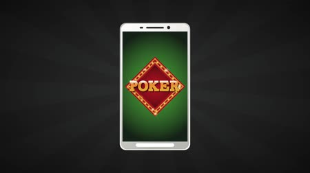pokerkarten : Poker Online-Spiel von Smartphone High Definition-Animation bunte Szenen Videos