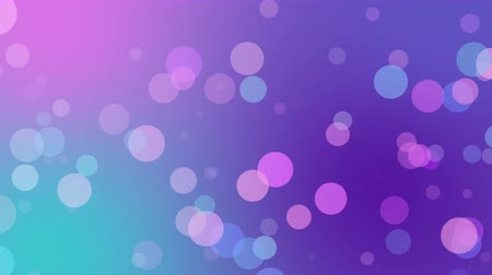 césar : abstract circle background animation soft pastel color for video background ovelay design