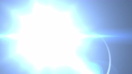 scena : Lens Flare Rotation Motion Background glow bright light video footage for footage ovelay design Wideo