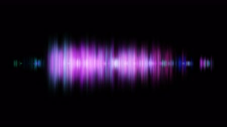 amplificador : Abstract sound wave background glowing light audio Wave background for video design
