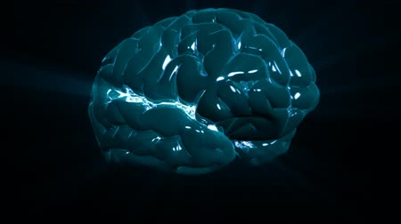 pólos : Brain rotate HD 1080 Stock Footage