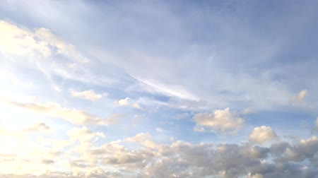 океаны : moving clouds and blue sky time lapse