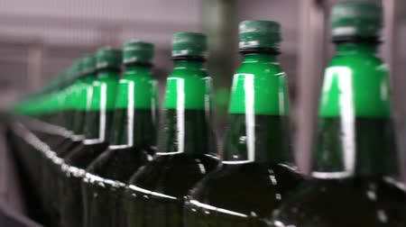 maquinaria : Technological line for bottling of beer in brewery. Stage6