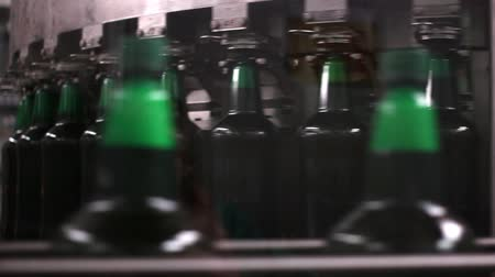 drink industry : Technological line for bottling of beer in brewery. Stage5