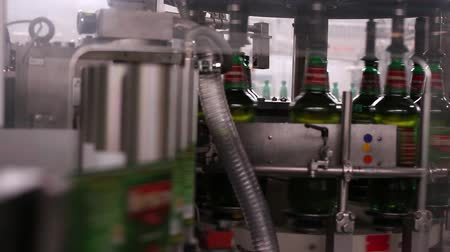 montaj : Technological line for bottling of beer in brewery. Stage7